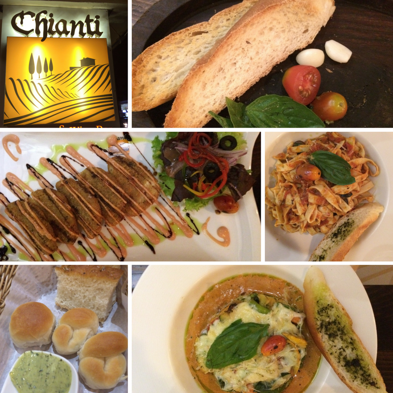 Chianti italian restaurant indiranagar bangalore for Avventura journeys in italian cuisine