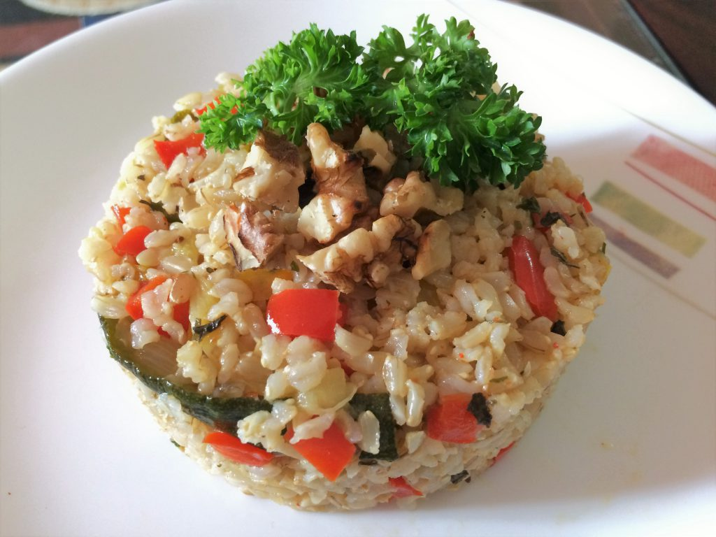 Brown Rice Vegetables