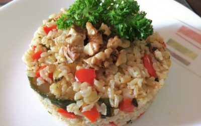 Healthy Brown Rice with Vegetables