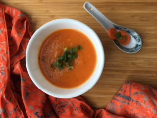 easy healthy carrot soup